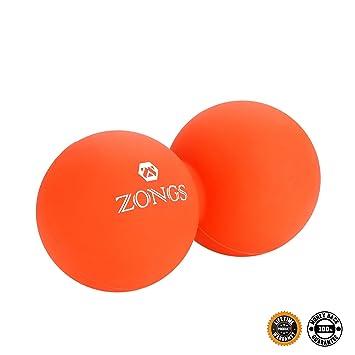 Massage Ball,Peanut Massage Ball Yoga Roller, Lacrosse Ball for Deep Tissue Roller, Myofascial Release,...