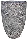 Zen Garden Flowers Terracotta Planter, Size – 11″ x 17″ (Dia x H), Color – Mocha For Sale