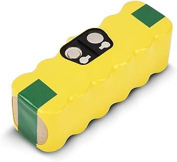 Batería de Repuesto Recargable para iRobot Roomba 520 530 531 550 555 560 562 563 564 580 581 Series, 14.4V, 3500mAH, NI-MH: Amazon.es: Electrónica