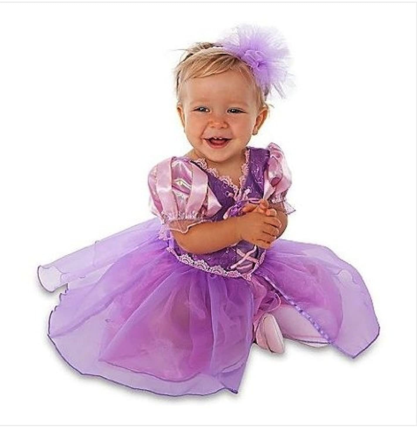 Amazon Disney Store Tangled Princess Rapunzel Costume Size 3 6