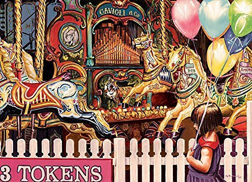 Cobble Hill Three Tokens Required Jigsaw Puzzle, 1000Piece by Cobble Hill