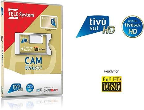 Tele System SmarCAM TivùSat Lector de Tarjeta Inteligente Interior Ci - Lector de Tarjetas de Memoria (Interior, LG, Samsung, Sony, Ci): Amazon.es: Informática