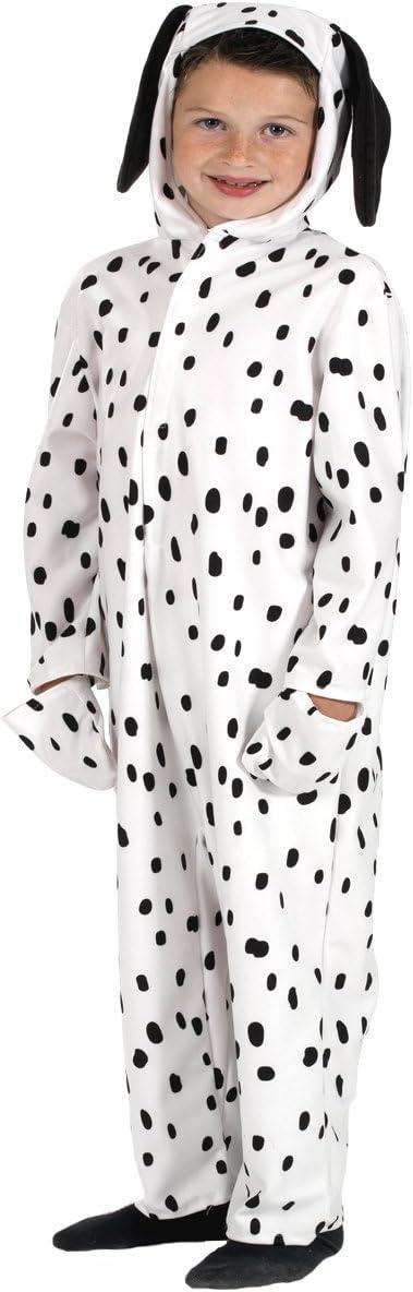 Dalmatian - Disfraz de dálmata para niño, talla 116 cm: Amazon.es ...