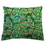 SheetWorld Crib/Toddler Percale Baby Pillow Case - Ninja Turtles - Made In USA