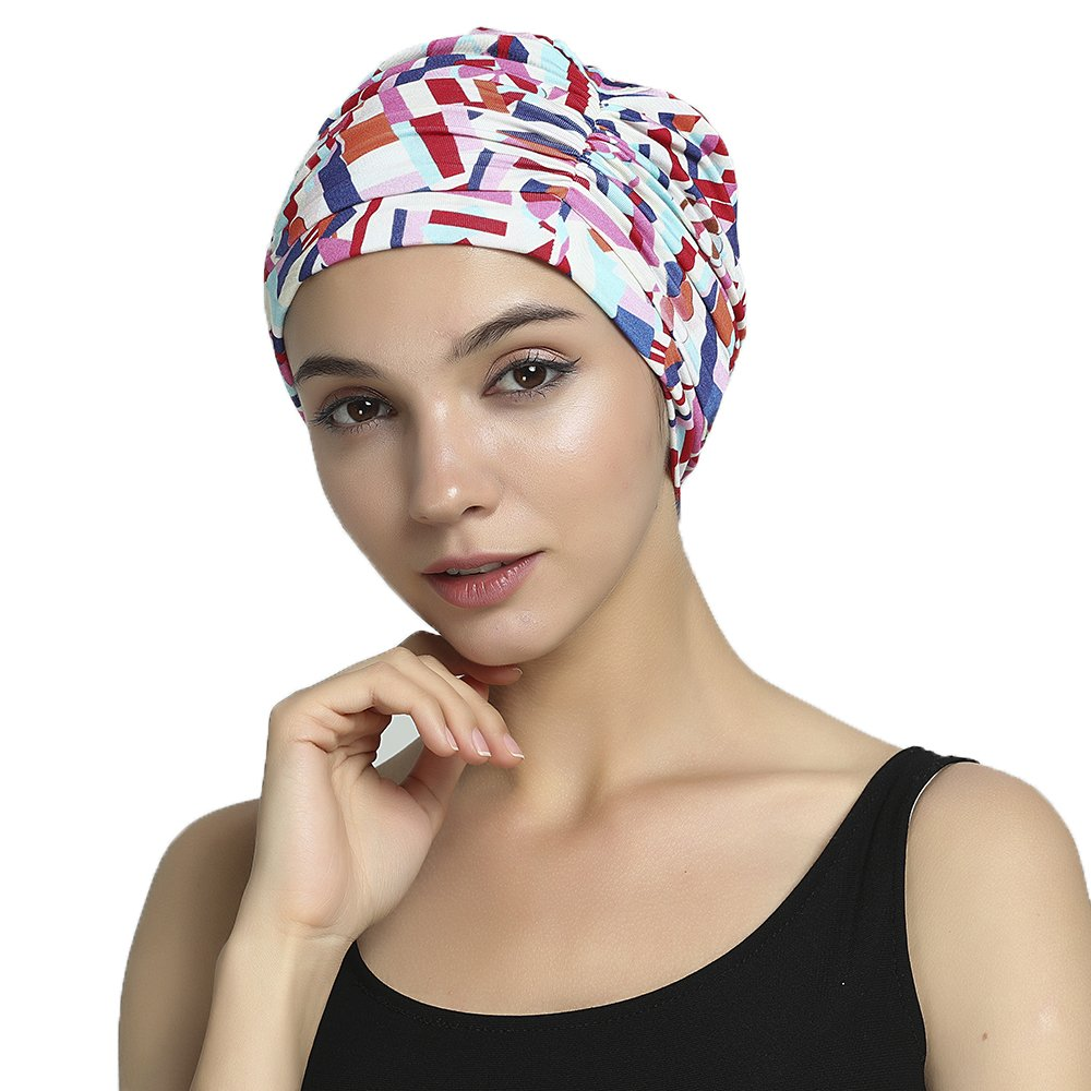 Multi color Bamboo Chemo Hat