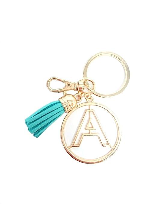 Amazon.com: Inicial joyas personalizado alfabeto inicial ...