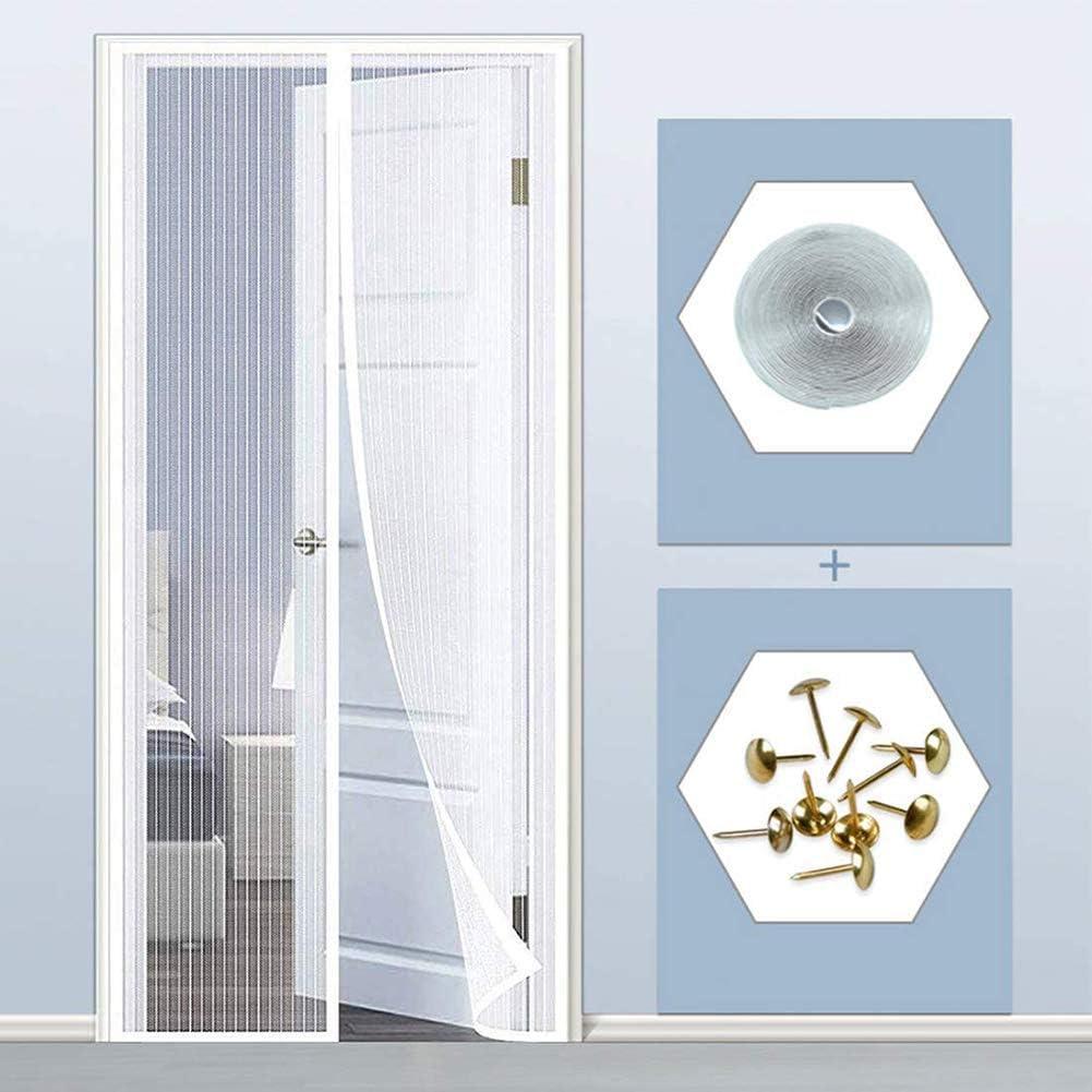 Cortina Mosquitera Para Puertas Marr/ón Magn/éTica Para Puertas Cortina De Sala De Estar La Puerta Del Balc/óN Puerta Corredera De Patio