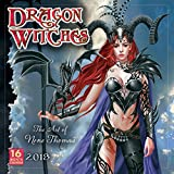 Dragon Witches: The Art Of Nene Thomas 2018 Wall Calendar (CA0127)