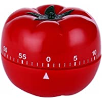 Monland 1-60min 360 Degree Fashion Cute Indoor Kitchen Practical Tomato Mechanical Countdown Timer
