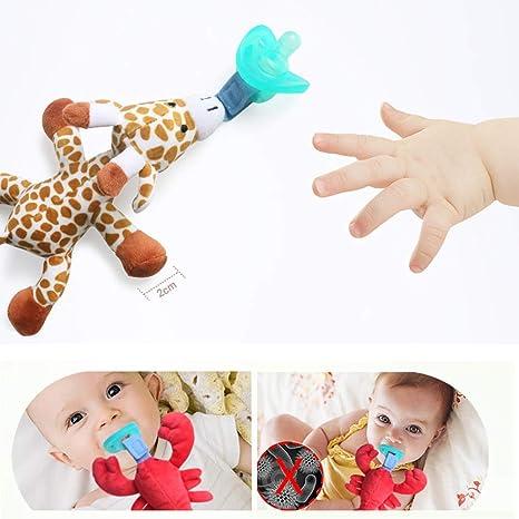 Egosy Baby Dummy Pacifier Chupete de Peluche para bebés ...