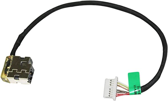 HP 15-BW Series 15Z-BW Laptop DC IN Power Jack w//Cable 799749-Y17