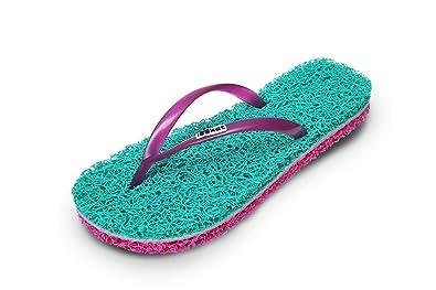 e5dd1b91e Women s Flip Flops Massage Slippers with Foot Scrub Exfoliating Massager.  Helps with Reflexology