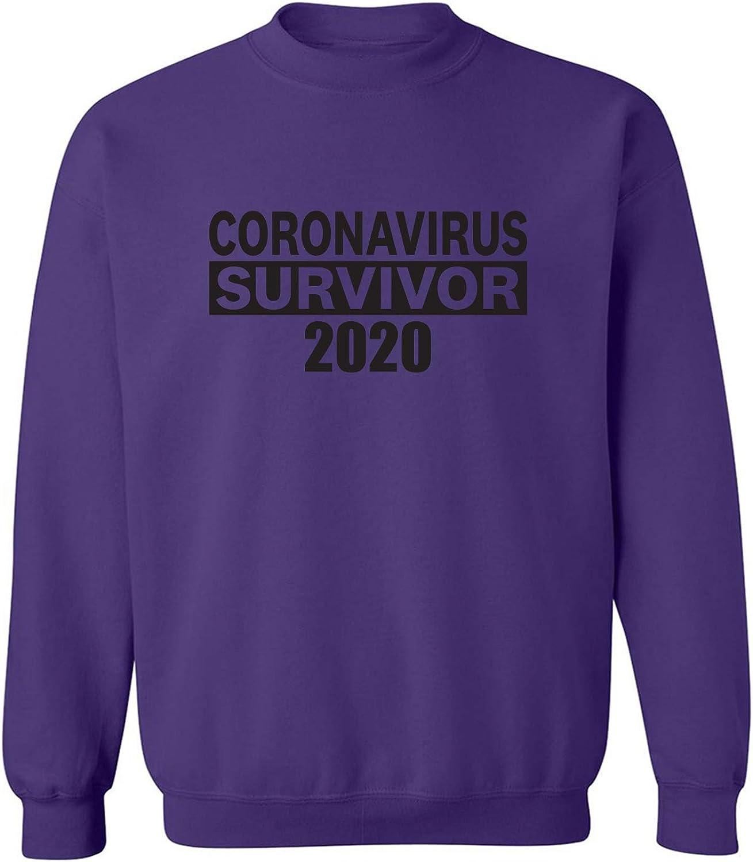 CORONAVIRUS Survivor 2020 Crewneck Sweatshirt