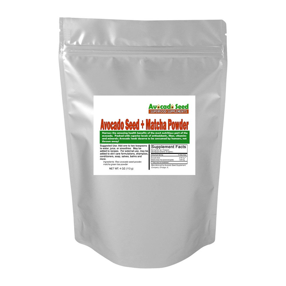 4 Oz Avocado Seed Matcha Green Tea Powder Largest Avocadoseeddiagram1 Supplier Of Supplements Raw Food Top Health Benefits Blood Sugar Control Cholesterol