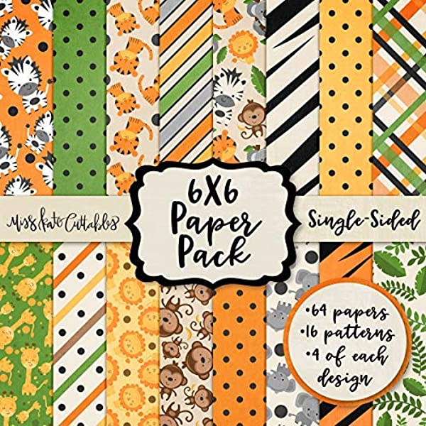 YARUMI Single-Sided Scrapbook Paper Pad,Pack of 24 Pages Scrapbooking Paper Collection Holiday Cardstock Cardmaking Photo Frame Decorative Pages Cuttable Foldable Pattern Paper Pack Brilliant Life