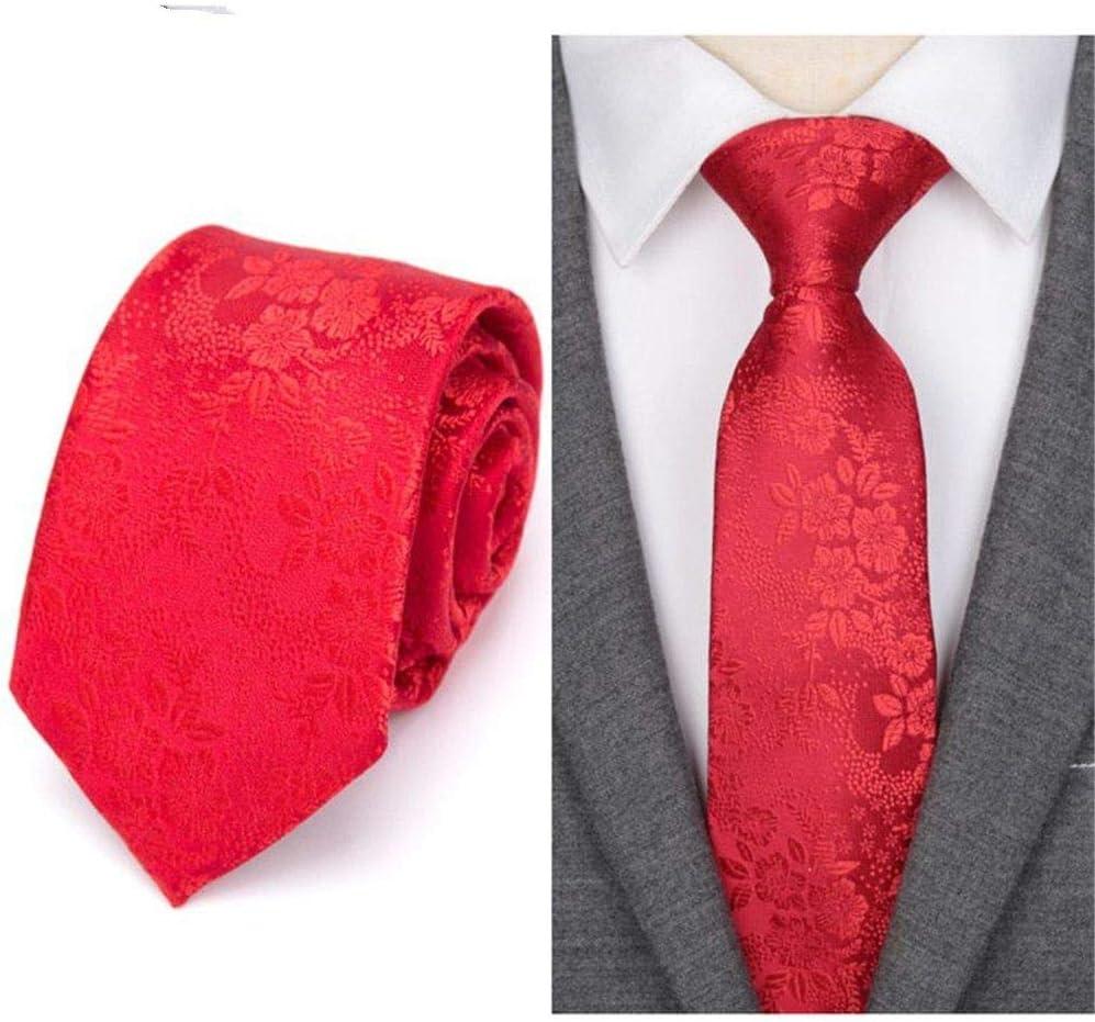 Zjuki corbata Corbata para Hombre Moda Jacquard Corbatas Tejidas ...