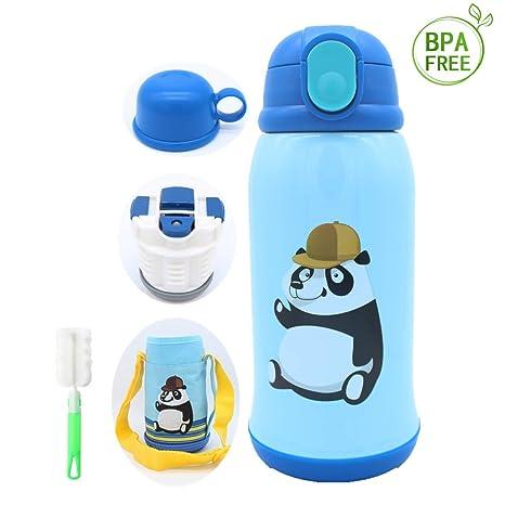 Amazon.com: Botella de agua Sundylive para niños, 473 ml ...