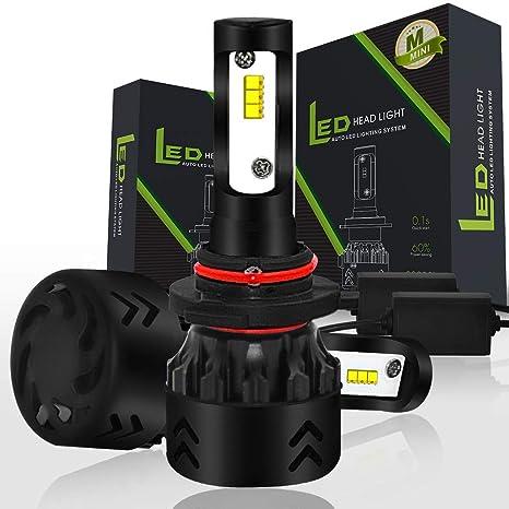 Diesel Auto Zone 9005/HB3 Led Bombillas 6000K 9600LM 50W Lámparas de Coche con Philips