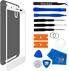 MMOBIEL Front Glass Replacement Compatible with Motorola Moto X 2nd Gen (White) Display Touchscreen incl Tool Kit