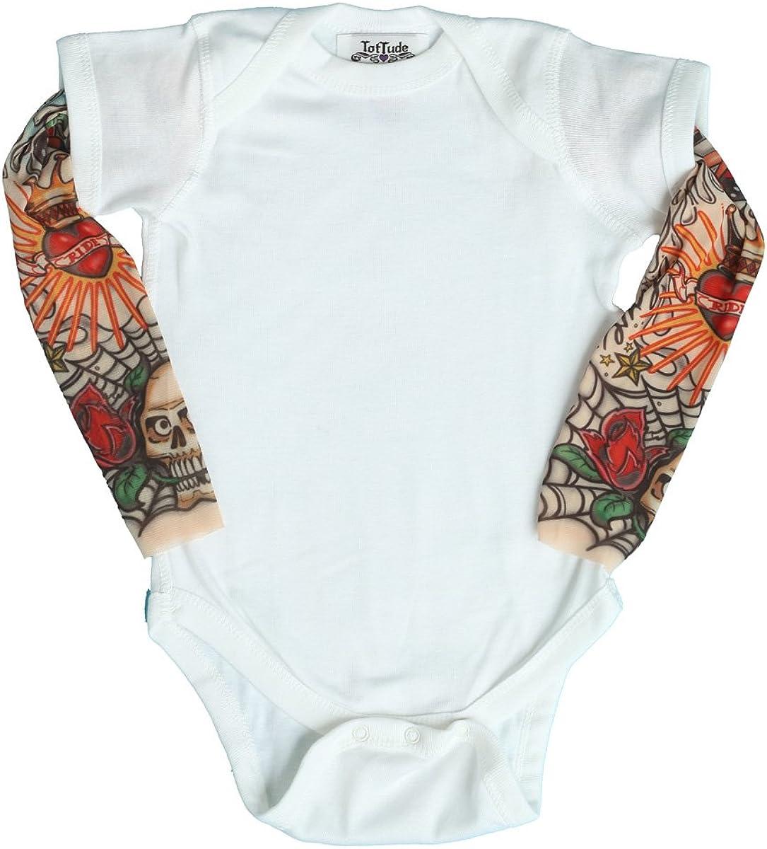 Tats /& Cats Printed Unisex Baby Short-Sleeved Bodysuit Romper Jumpsuit