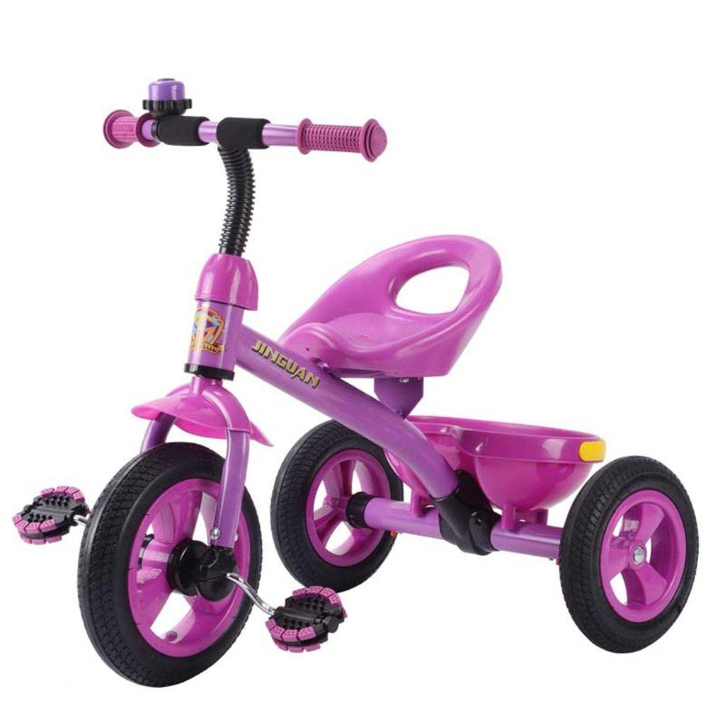 Kinder Dreirad, 3-4-5-6 Jahre altes Baby Baby Wagen Spielzeug Auto Fahrrad Free SchlauchStiefel Kinder Fahrrad
