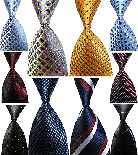 100% Silk Mens Necktie - 8