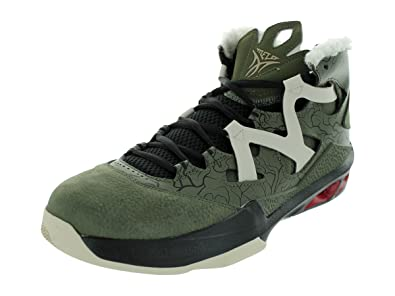 buy popular 79cb6 02363 Jordan Mens Melo M9 Cargo Khaki Zinc-Black-Gym Red 551879-343