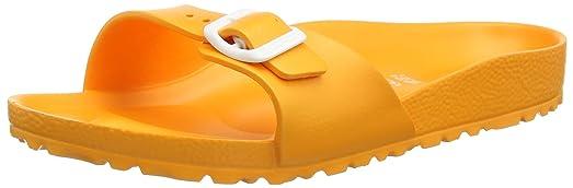 e8b649720fd Birkenstock womens Madrid EVA in Neon Orange from EVA complete  Synthetic-Sandals 41.0 EU N