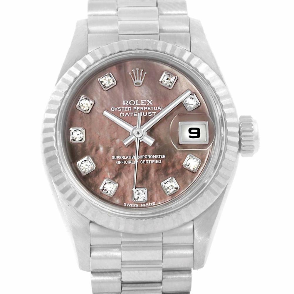 Rolex Datejust automatic-self-wind womens Watch 69179 (Certified Pre-owned)