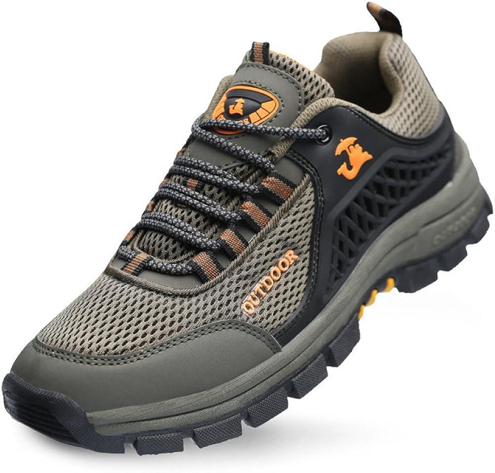 Zapatos De Oxford Zapatillas para Correr Impermeables Mejoradas para Hombres Zapatos Ocasionales Respirables Zapatos para Caminar Suaves Y Cómodos Zapatos Al Aire Libre Durables: Amazon.es: Zapatos y complementos