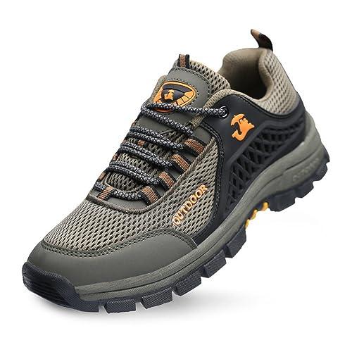 Zapatos De Oxford Zapatillas para Correr Impermeables Mejoradas para Hombres Zapatos Ocasionales Respirables Zapatos para Caminar Suaves Y Cómodos Zapatos ...