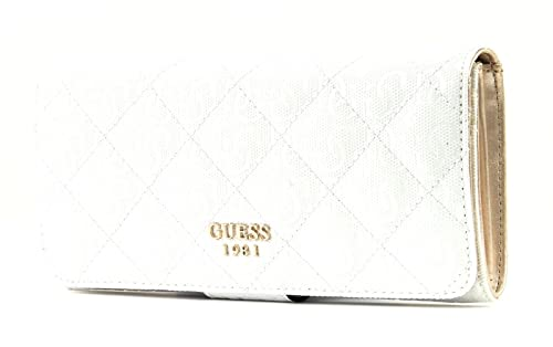 36f2bcac2c GUESS Seraphina SLG File Clutch White  Amazon.co.uk  Shoes   Bags