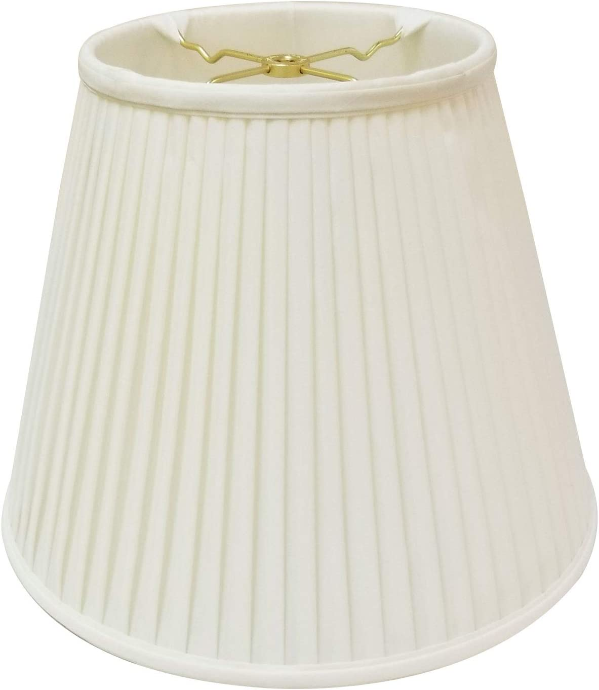 Royal Designs Deep Empire Side Pleat Basic Lamp Shade Eggshell 9 X 18 X 14 Bs 728 18eg