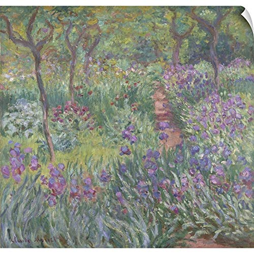 CANVAS ON DEMAND The Artist's Garden in Giverny, 1900