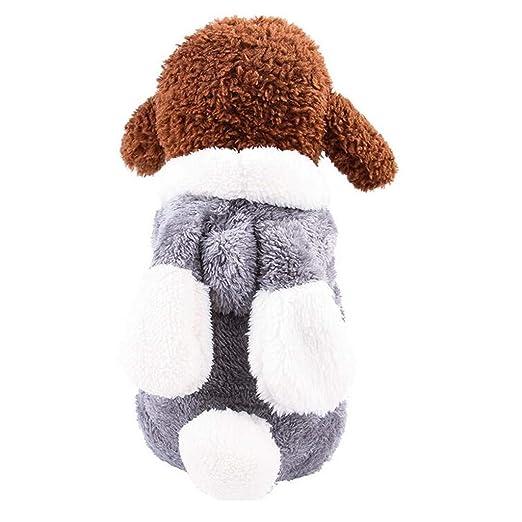 Zolimx Ropa de Perro para Perros Pequeños Invierno Cachorro ...