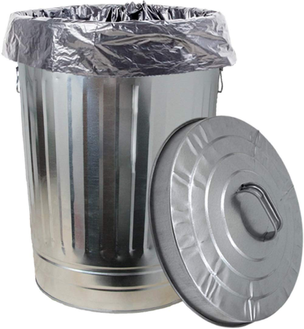 Dover Parkersburg DP1211K Steel Can, 20-Gallon Silver by Dover Parkersburg (Image #2)