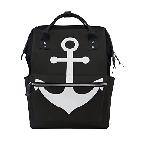 a22716cbb9f Amazon.com  JSTEL Laptop College Bags Student Travel Anchor Icon ...