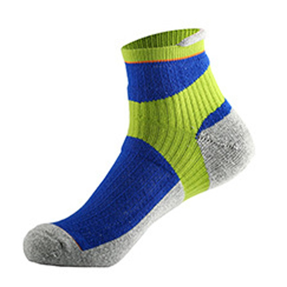 Aiyuda Men's Cotton Comfortable Work Athletic All Sport Crew Socks Cushioned Color for Running Cycling
