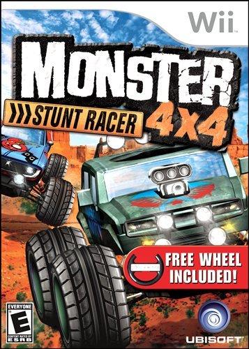 Monster 4x4 Stunt Racer with Wheel - Nintendo - Racers Monster
