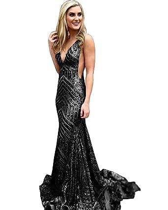 Black Backless Dresses