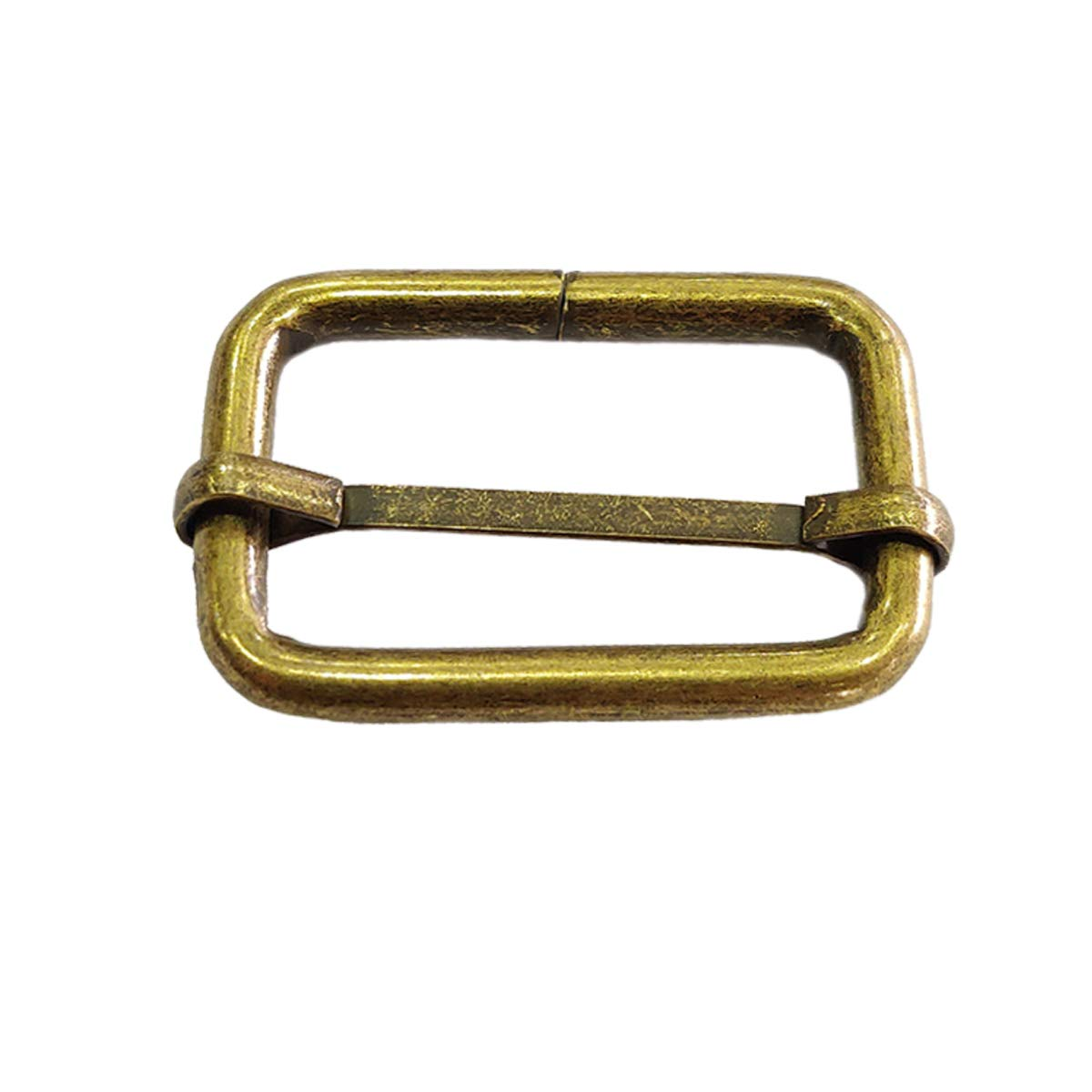 Trimming Shop 32mm Triglide Bronze Boucle pivotant en métal Slide Trigger Snap Crochets pour sangles, métal, toboggan, résistant, léger, Sac à dos, sangle de fixation, Pet Colliers et sac Accessoires, Métal, bronze, 2pcs
