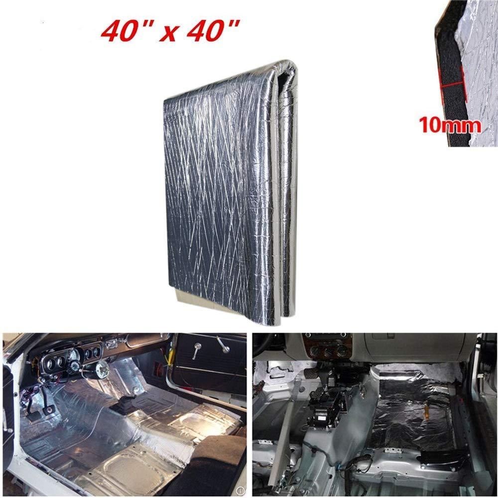 Shinehome 394mil 10 76sqft Car Interior Sound Deadener Mat Heat