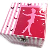 Musical jewelry box 'Ballerines' rose.