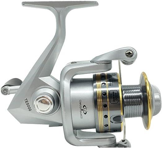 Carretes Spinning Spinning Fishing Reel 12 + 1 Rodamientos Manija ...