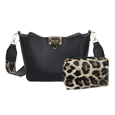 Luggage & Bags 2pcs Women Fashion Messenger Handbag Crossbody Bag Shoulder Bag Set Phone Purse Bag Purse Shoulder Bag Clutch Pu Leather Small Durable In Use