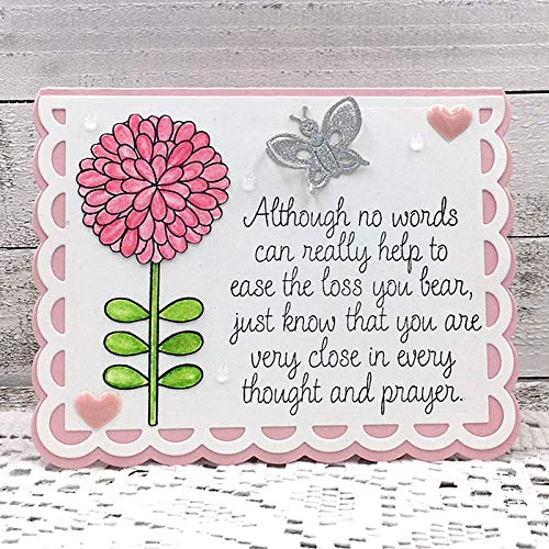 Sympathy Stamps for Card-Making and Scrapbooking by The Stamps of Life - Sympathy2Stamp