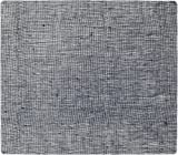 modern-twist Modern design Non-slip Heat Resistant Silicone Placemats for Dining and Decoration, Oval, Linen, Denim Blue