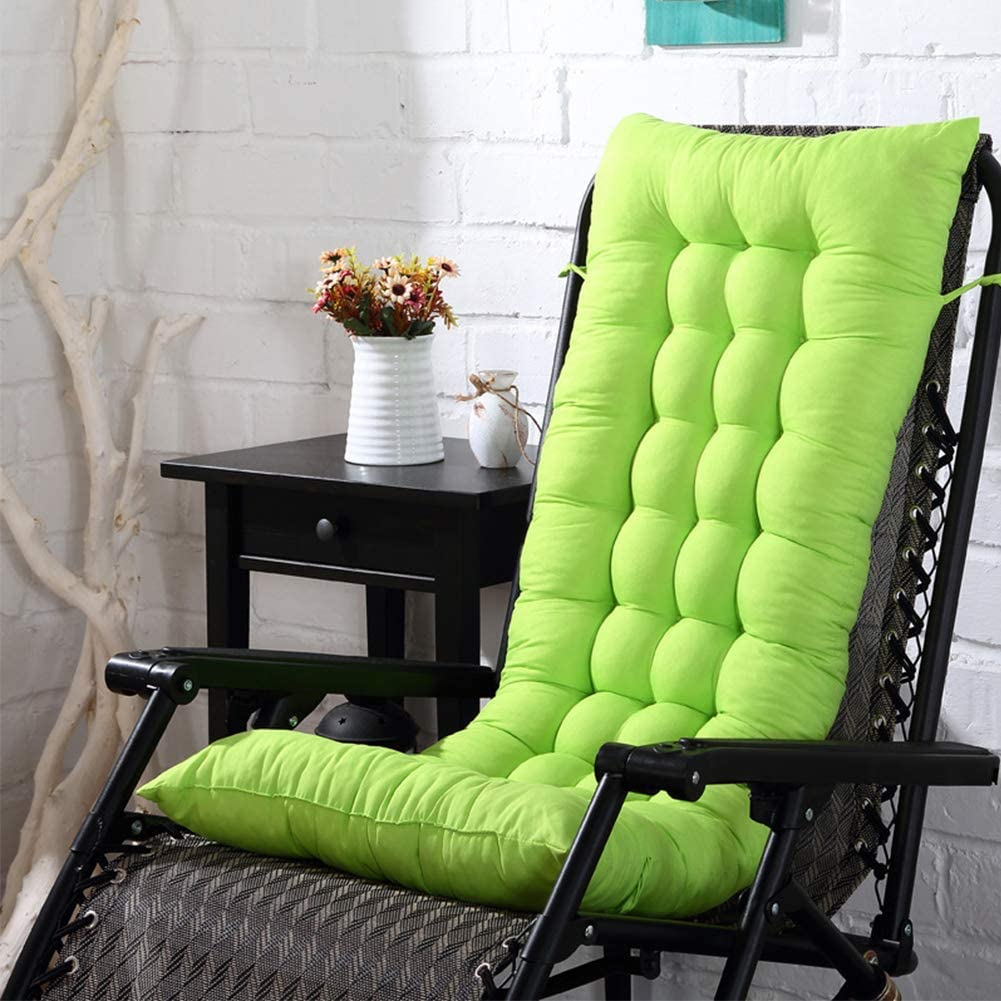 Giardino Esterno Universale Cotone Pad Tempo Libero Cuscini per Sole Sedie a Sdraio Arancione Free Size TXYFYP Giardino Reclinabile Cuscini Panchine