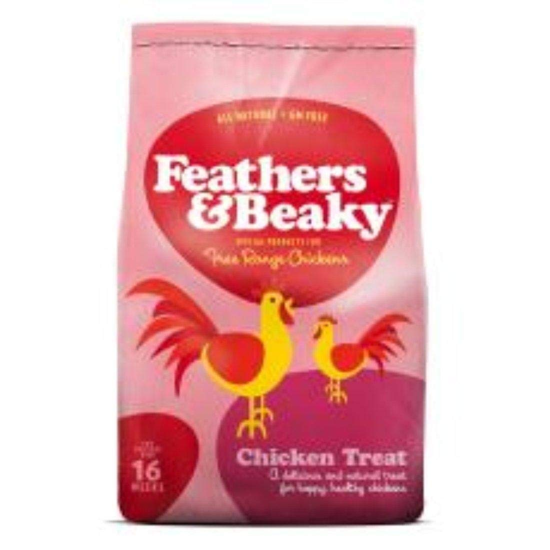 Spikes Feathers & Beaky Free Range Feed Chicken Treat 5kg by Spikes