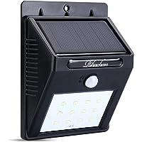 RanLight Solar Powered 12 LEDs Wall Light